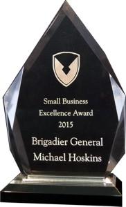 Military Acrylic Award