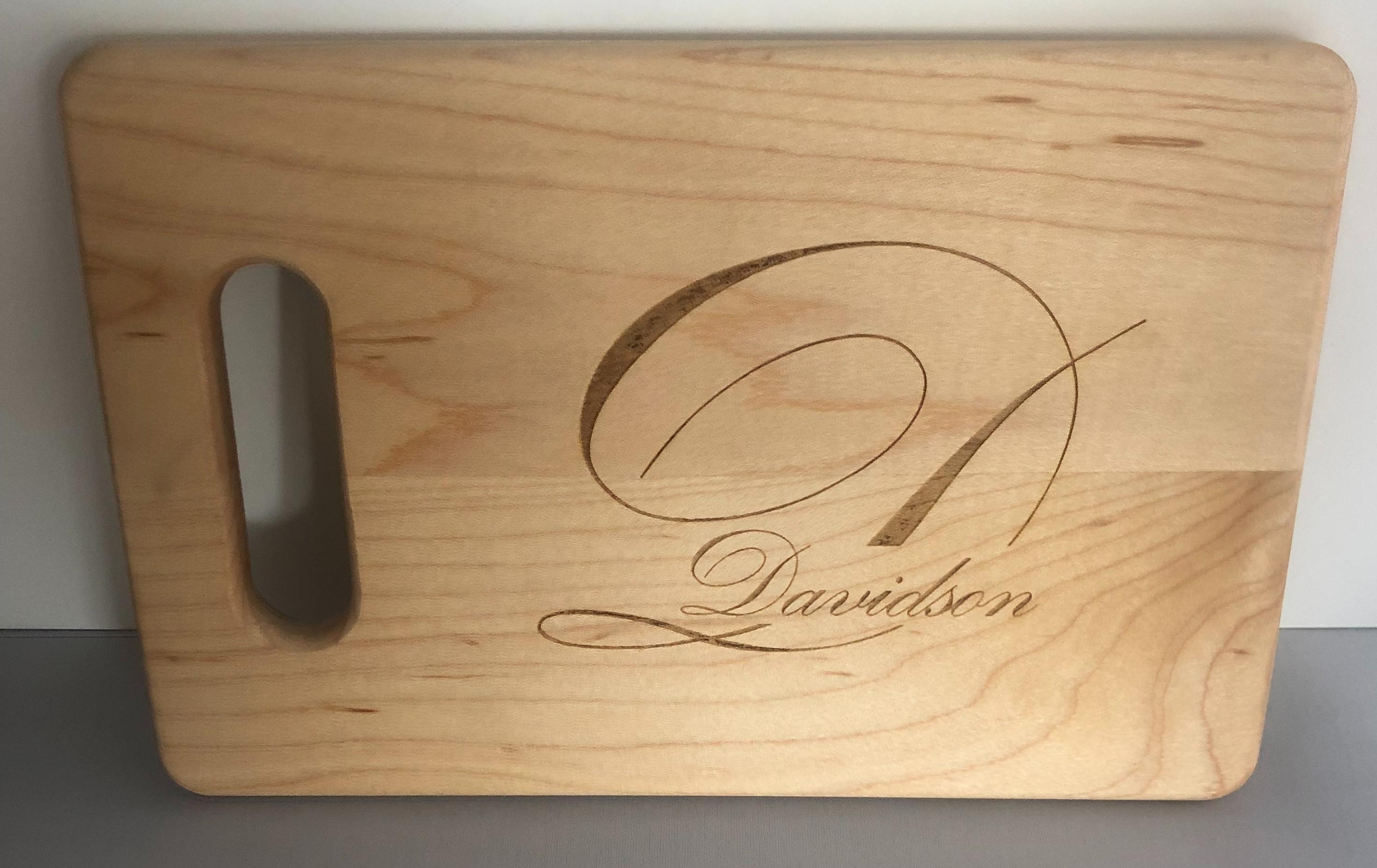 Walnut cstomized cutting board